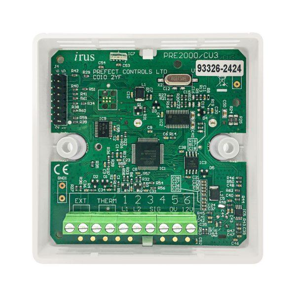 Irus building energy management controller PRE2000CU3 Thermostatic room control