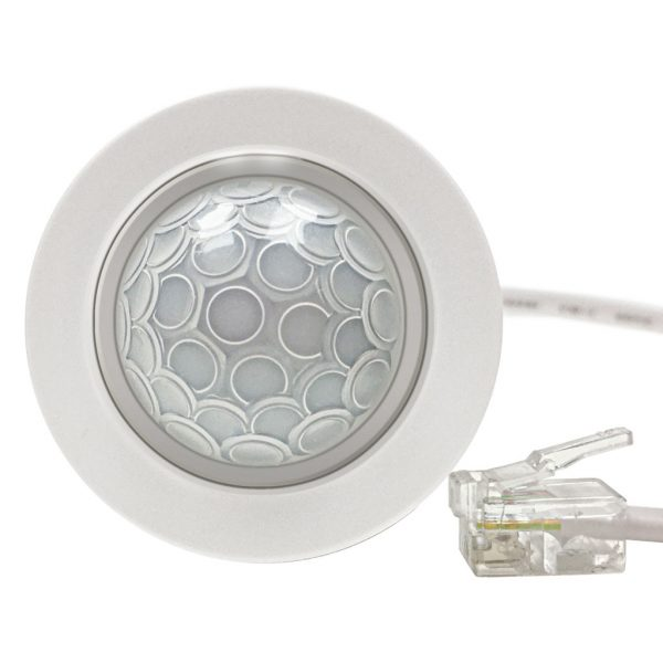 PRE3207B-PRM Miniature flush or surface-mount ceiling PIR detector
