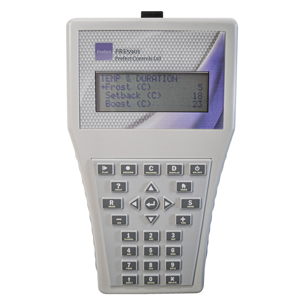 PRE5901 Infra-red programming handset with numeric keypad
