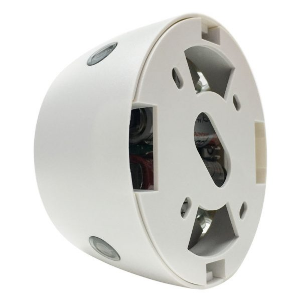 Mounting bracket view PRE7000 Flush-mount battery-powered infra-red A/C PIR auto on/off control
