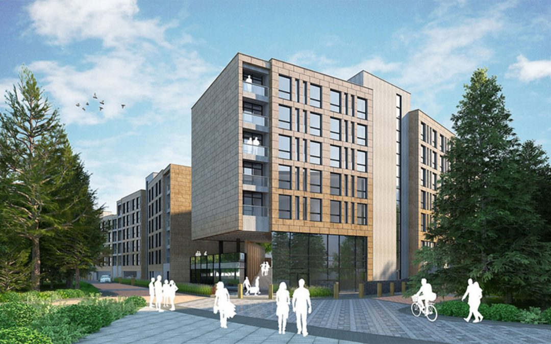 University of Bath goes electric in their 293 room student accommodation.