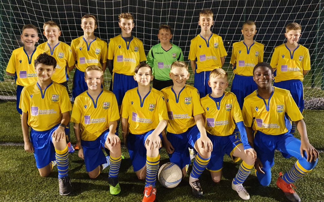 Gildersome Spurs promoted to Division 1